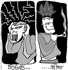 Risultati immagini per migraine cannabis